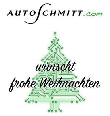 Das Team von AUTOSCHMITT wünscht ein schönes Weihnachtsfest und einen guten Star...